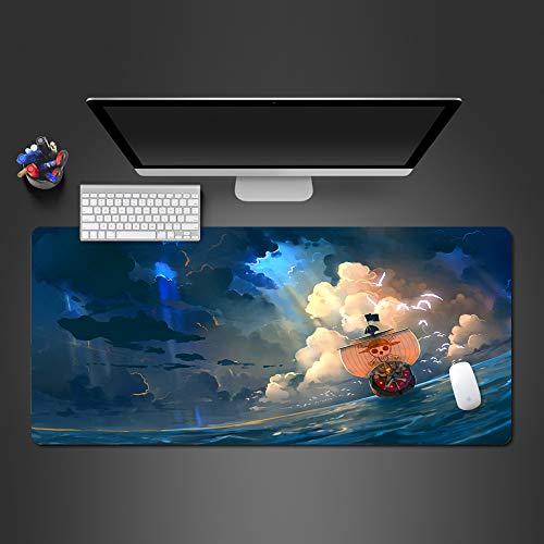 Mauspad hochwertiges Gummi-Wachs-Mauspad zum Spielen der hochwertigen Spielmatte 700x300x2mm für Familien-HD-Spiele