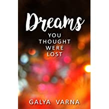 Dreams You Thought Were Lost: Poetry book (English Edition)