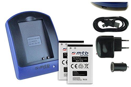 2 Akkus + Ladegerät (Netz+Kfz+USB) für Contour+2, Contour+, ContourHD 1080P.. / Toshiba Camileo.. / Aiptek PocketDV.. - s. Liste