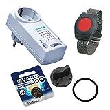 Pflegeruf-Set ELDAT Easywave RS10 mit Batterie-Wechselset