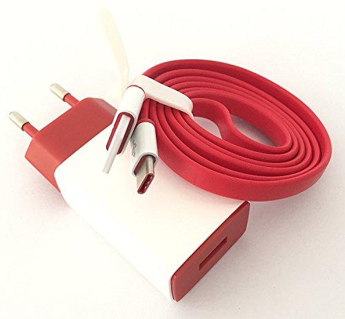PRAVARA Flat USB Type C Charging and Data Sync Cable...