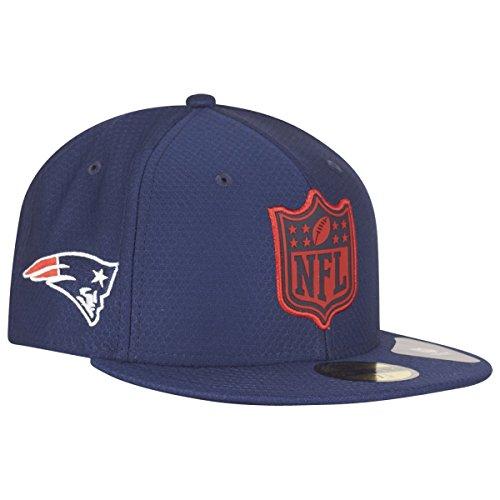 A NEW ERA Gorra 59Fifty League Logo Patriots by gorragorra de beisbol (7 3  dbdde325024