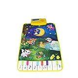 Bomcomi Baby Piano Mats Musica Tappeti Newborn dei Bambini del Capretto di Tocco di Giocare Il Gioco della Moquette Musicale Mat