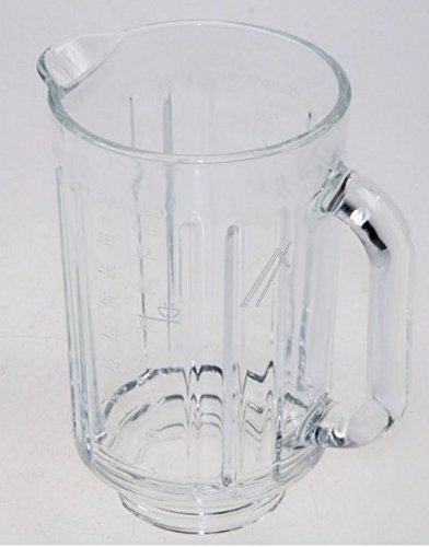 Bicchiere in vetro per frullatore termoresistente originale kenwood per planetarie chef / major (versione at358 / kah358gl)