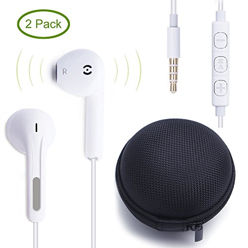 ankoda-2pack-premium-earphones-headphones-earbuds-with-stereo-micremote-control-for-apple-iphone-6s-