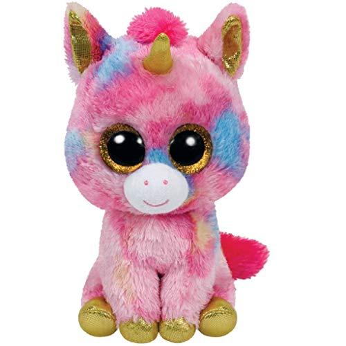 "Beanie Boo Unicorn - Fantasia - Multicoloured - 42cm 16"""