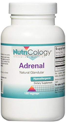 Nutricology: Adrenal Natural Glandular (150 Kapseln)