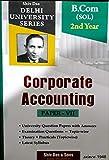 B,Com SOL 2nd Year Corporate Accountting Paper-VII Delhi University For 2020 Exam