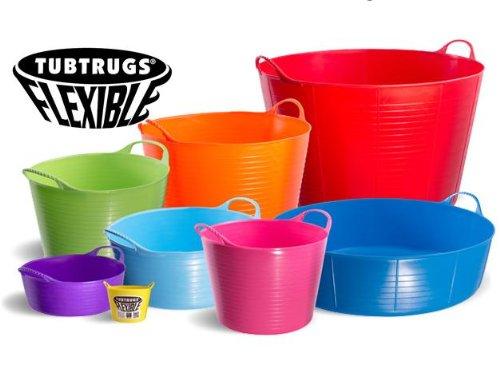 Cubo Flexible Tubtrugs todos tamaños y colores