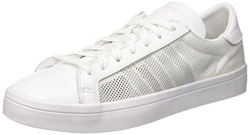 adidas Herren Courtvantage S76659 Basketballschuhe, Weiß (Ftwwht/Ftwwht/Ftwwht), 44 EU