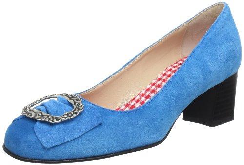 Schuhe Celine (Diavolezza CELINE 6050 Damen Pumps, Türkis (Turquoise), EU 37)
