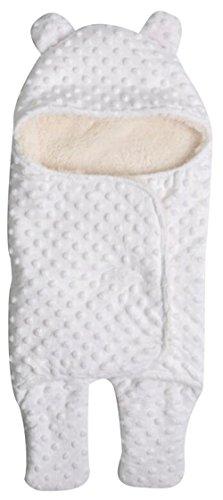 Oktober Elf Neugeborene Infant Baby Schlafsack Decke dicker Wrap für Herbst und Winter (Bunting Gemütliche)