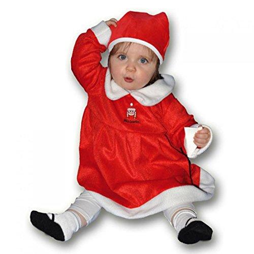 Imagen de disfraz mama noel para bebe de 6 12 meses