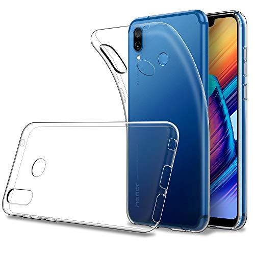Simpeak Hülle für Huawei Honor Play [6,3 Zoll], SchutzHülle für Honor Play handyhülle Case Silikon Transparent Clear TPU
