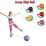 Whyyudan Knöchel überspringen Ball Hop Swing Jumping Ball Spielzeug Ball Spiele Fuß Ball Sport Übung Fitnessgeräte für Kinder Kinder Erwachsene