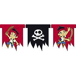 Banderillas de Jake y los piratas.