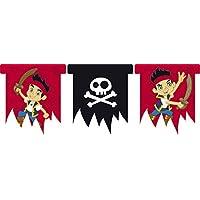 Festone a bandierine Jake il pirata party