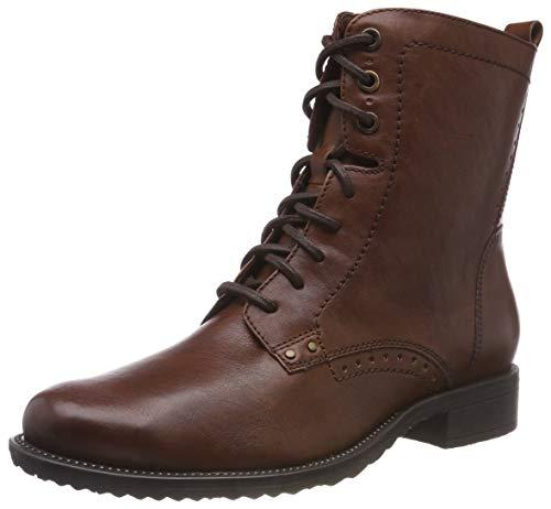 Tamaris Damen 25217-21 Combat Boots, Braun (Cognac 305), 39 EU