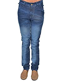 Leo Men's Blue Stretchable Slim Fit Jeans (J20)