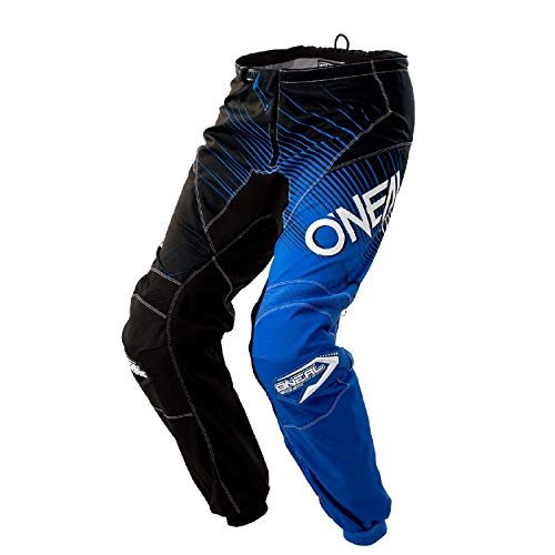 O'NEAL ELEMENTO Racewear MX motocross TUBO RADIATORE PANTALONE ENDURO FUORISTRADA FUORISTRADA QUAD CROSS adulti, 0108 - Black Blue - 32