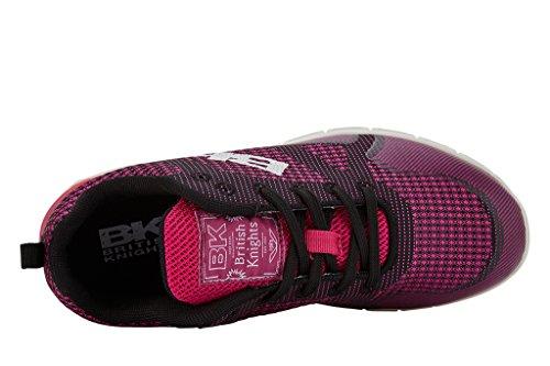 British Knights Energy Damen Sneakers Fuchsia/noir