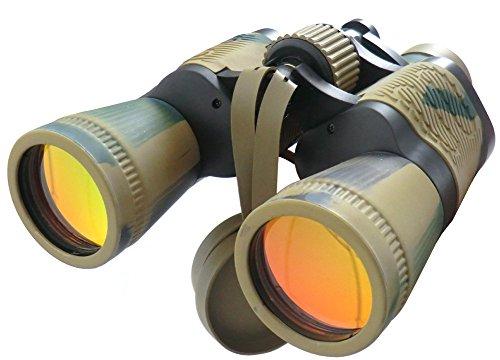 Teleskop 7 x 50 Zoom Fernglas außen Reisen zusammenklappbar, Band für Golf, Camping, Trekking, Angeln, Stellungnahmen von Vögeln, Konzerte