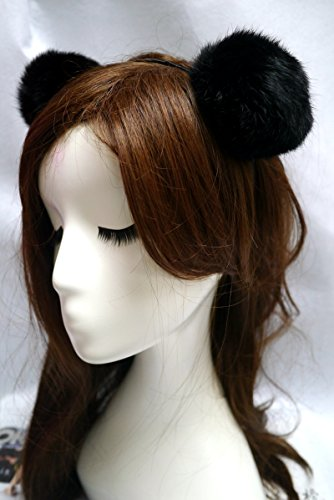 Sharplace Sexy Spitze Katze ohren Haarband Stirnband Kostüm - Farbe11