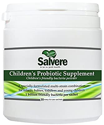 Children's Probiotic Supplement - Tasteless Powder Suitable for Babies & Children of All Ages