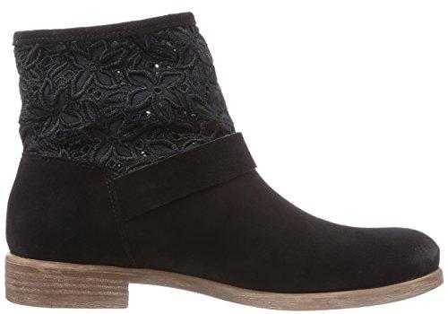 Tosca Blu Shoes TETHYS Damen Biker Boots Schwarz (NERO C99)