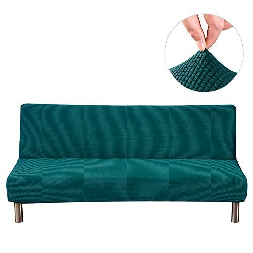 PROKTH Sofabezug Ecksofa Stretch Schlafsofa Klappsofa Sofaüberwurf Weich Sofahusse, 3 Sitzer 180-210 cm