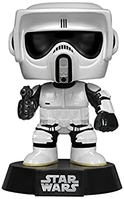 Funko - POP Star Wars - Biker Scout