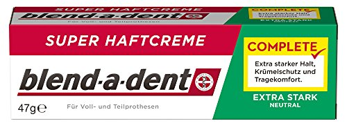 Blend-a-dent COMPLETE NEUTRAL Super-Haftcreme, 3er Pack (3 x 47 g)