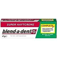 Blend-a-dent Super-Haftcreme Extra Stark -neutral-, 3er Paquete (3 x 47 g)