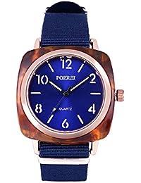 ba7c6de0ebe7 DAYLIN Marcas Relojes Hombre Mujer Reloj Cuadrado Hombre Deportivo Reloj  Pulsera de Cuarzo Analogico Sport Wrist