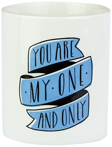 Mr. Wonderful - Taza con mensaje You are my one and only