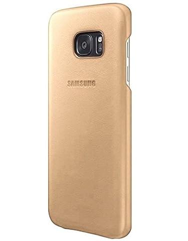 Samsung Leder Cover EF-VG930 für Galaxy S7, beige