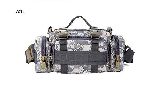 Zll/Armee Fan Outdoor Tasche Tactical Brust Pack 3P Magic Taille Bag Messenger Bag Mann Tasche mit Riding Big Taschen acu