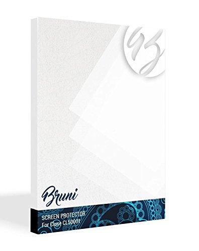 Bruni Schutzfolie für Cluse CL50001 Folie, glasklare Displayschutzfolie (2X)