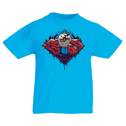 funny-t-shirts-for-kids-super-hero-14-15-years-light-blue-multi-color