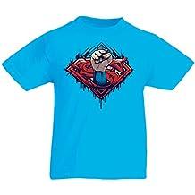 N4337K La camiseta de los niños Super Hero