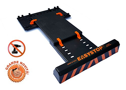 EASYSTOP Tope de rueda para garaje - Asistente de aparcamiento - Ajustable