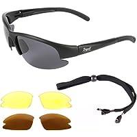 ARAPAIMA FISHING EQUIPMENT Schwarze, polarisierte Sonnenbrille zum Angeln - Anglerbrille