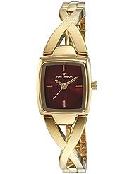 TOM TAILOR Damen-Armbanduhr Analog Quarz Edelstahl beschichtet 5413603