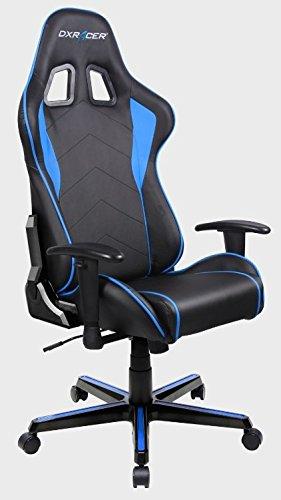 DXRacer F-Series OH/FL08/NB Negro/Azul – Silla Gaming