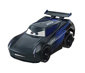 Mattel Disney Cars-Vehículo Turbocarreras Jackson Storm, Coches de Juguetes niños +3 años, Multicolor FYX41