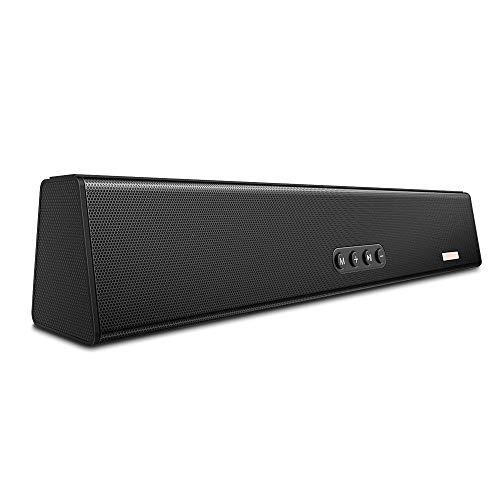 Blitzwolf® BW-SDB0 10W 1200mAH Mini Smart bluetooth Soundbar for Desktop or Laptop PC