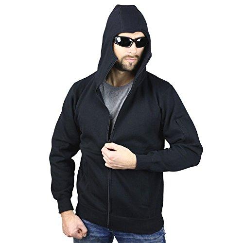 No Face No Name Ninja Zip Hoody Warrior Noir - Noir
