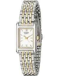 7f610cb8f654 Citizen EJ5854-56A - Reloj analógico de Cuarzo para Mujer
