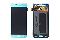 Genuine Samsung Galaxy S6 G920f Blue Lcd & Digitizer - Gh97-17260d