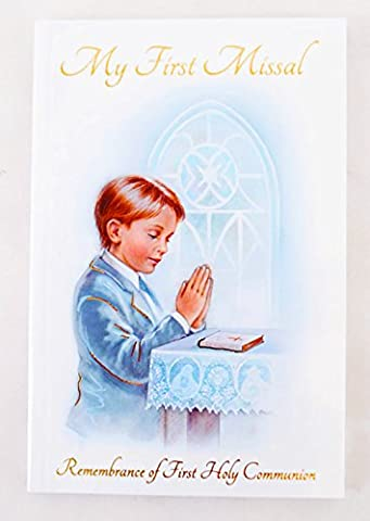 Remembrance Of First Holy Communion Mass Book Service Prayers Confirmation Gift